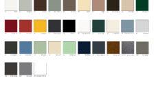 RAL Farbkarte zur Auswahl von Alulux Rollladen