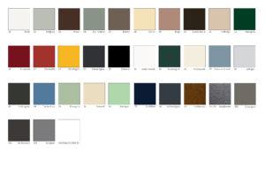 alulux ral farbkarte zur auswahl von alulux rollladen. Black Bedroom Furniture Sets. Home Design Ideas