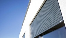Alulux Aluminium Aufsatzrollladen in anthrazit