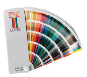 RAL Farbfächer zur Auswahl der Farbe für Garagentore