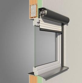 Formado Alulux Rollladensystem - halbrunder Vorbaurollladen