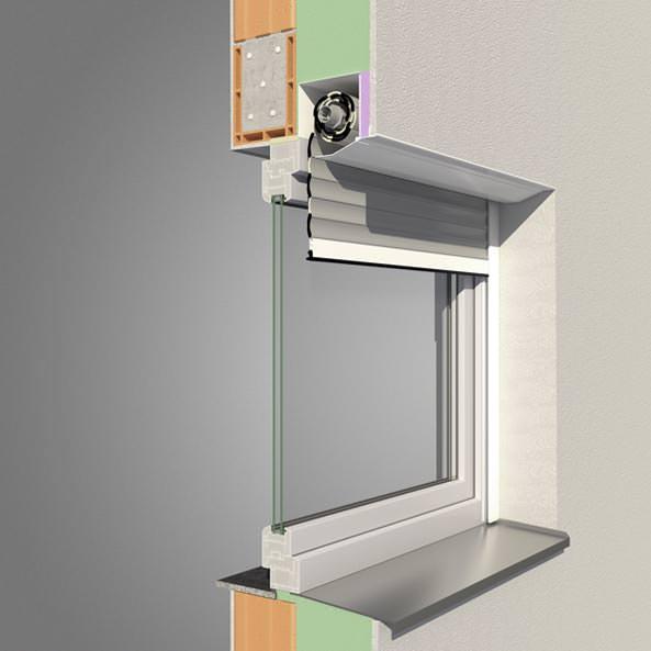 Punext Alulux Rollladensystem - Vorbaurollladen