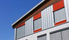 Raffstore Design Außenfassade