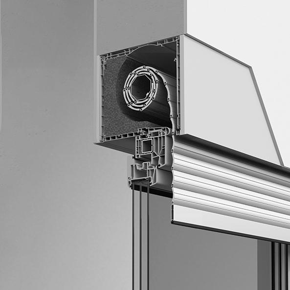 Tanext Rollladensystem - Aufsatzrollladen