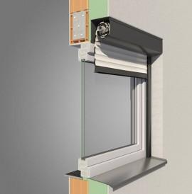 Varimaxx Alulux Rollladensystem für Vorbaurollladen