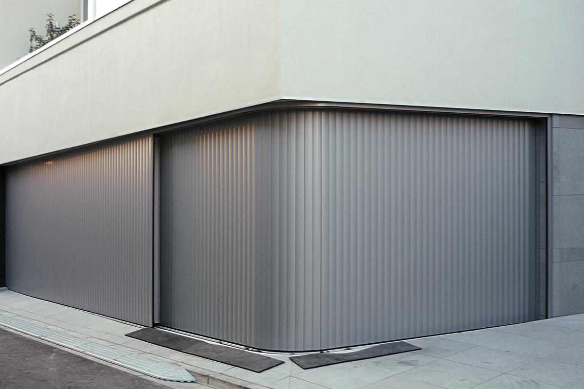 Das Variable Aluminium Garagentor Seitenlauftor Vertico