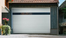 Alulux Garagentor Deckenlauftor Detolux Frontansicht
