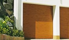 Alulux Garagentor Resident Kastenrolltor im Holzdesign
