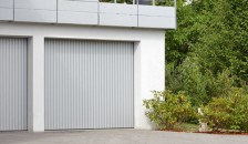 Alulux Garagentor Seitenlauftor Vertico in weiss