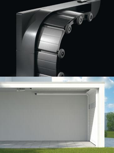 Alulux Garagentor System - Deckenlauftor Detolux