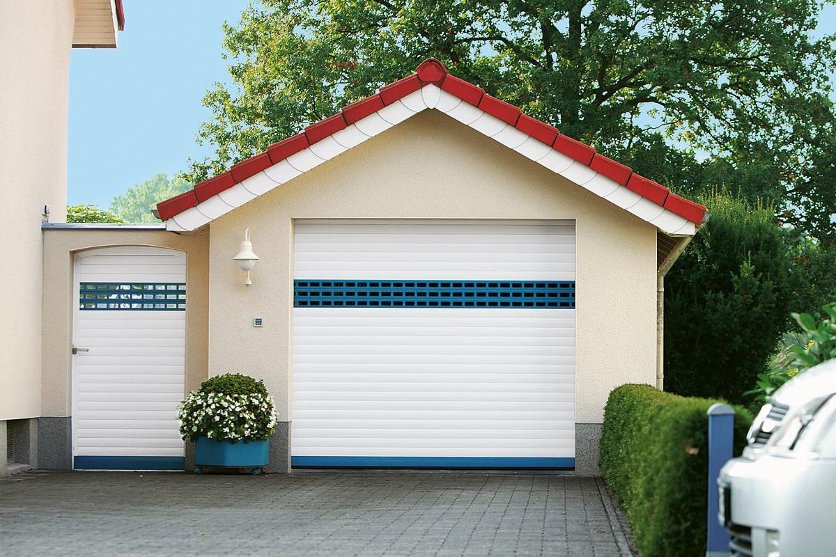 Garagentor modern weiß  Alulux-Garagentore: deutsche Markenqualität aus Aluminium | Alulux