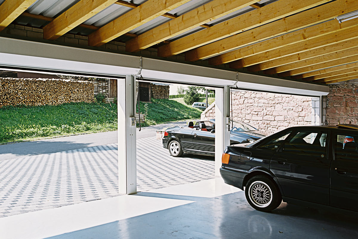 Alulux garagentore deutsche markenqualit t aus aluminium for Design semplice del garage