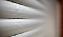 Garagentor Resident silber Closeup