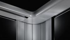 Garagentor Seitenlauftor Vertico - Nahaufnahme der Innenansicht
