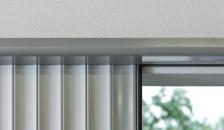 Garagentor Seitenlauftor Vertico als Nahaufnahme - Innenansicht