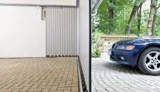 Garagentor Vertico Seitenlauftor Seitenansicht