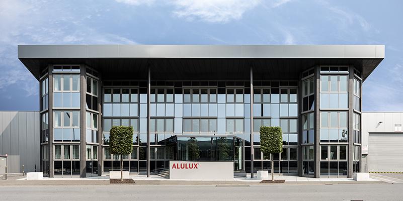 Alulux Hauptgebäude in Verl