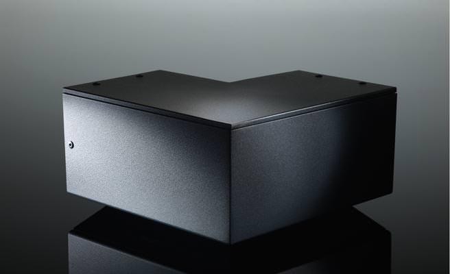 Rollladen Eigenschaften Gehrungsecke in Nahaufnahme