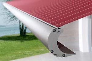 Eine hochwertige Markise in der persönlichen Wunschfarbe verleiht jeder Terrasse eine individuelle Note.