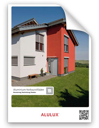 Alulux Vorbaurollladen Broschüre zum Download