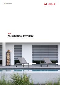Bruschüre Vorschau ARTec Raffstore Katalog