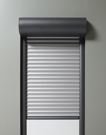 Alulux rollladen markenqualit t aus deutscher herstellung - Kunststofffenster mit rolladen ...