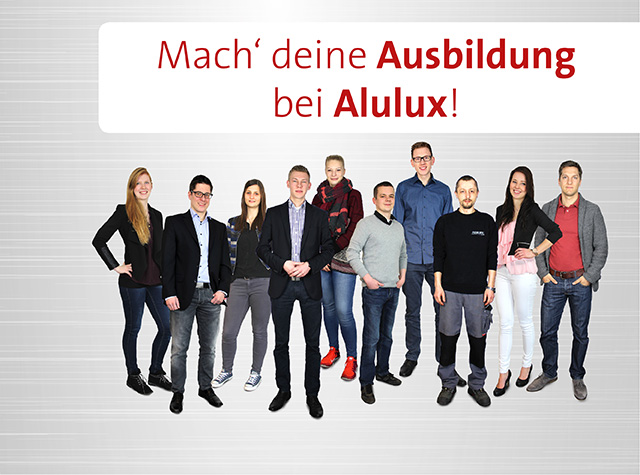 Ausbildung bei Alulux