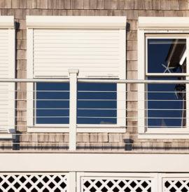 Alulux Qompact Rollladen Hausfassade