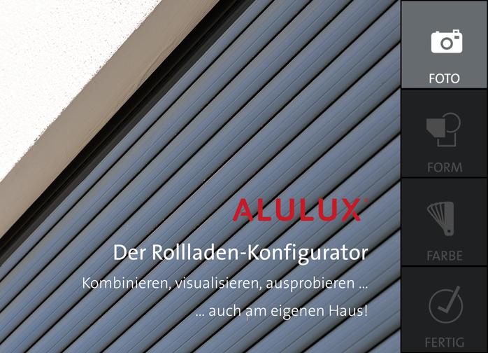 Alulux Rollladen Konfigurator